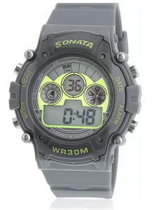 Sonata NH77006PP02J Digital Watch for Men