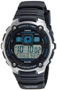 Casio-AE-2000W-1AVDF-Youth-World-Timer-Digital-Black-Dial-Mens-Watch