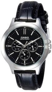 Casio Analog Black Dial Men's Watch-MTP-V300L-1AUDF