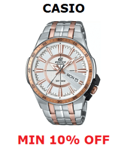 Casio Watch Offer Min 10% Off