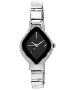 Fastrack Analog Black Dial Women's Watch-6109SM02