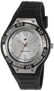 Fastrack Essentials NE9333PP01J Analog Silver Dial Men's Watch