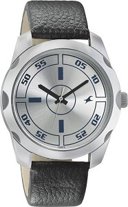 Fastrack Casual Analog Silver Dial Men's Watch – 3123SL01