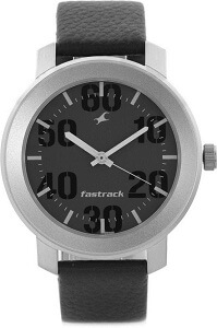 Fastrack NG3121SL02C Bare Basic Analog Watch - For Men