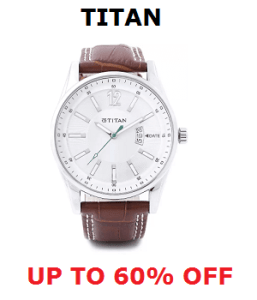 Titan Watch Offer - Up to 60% Off