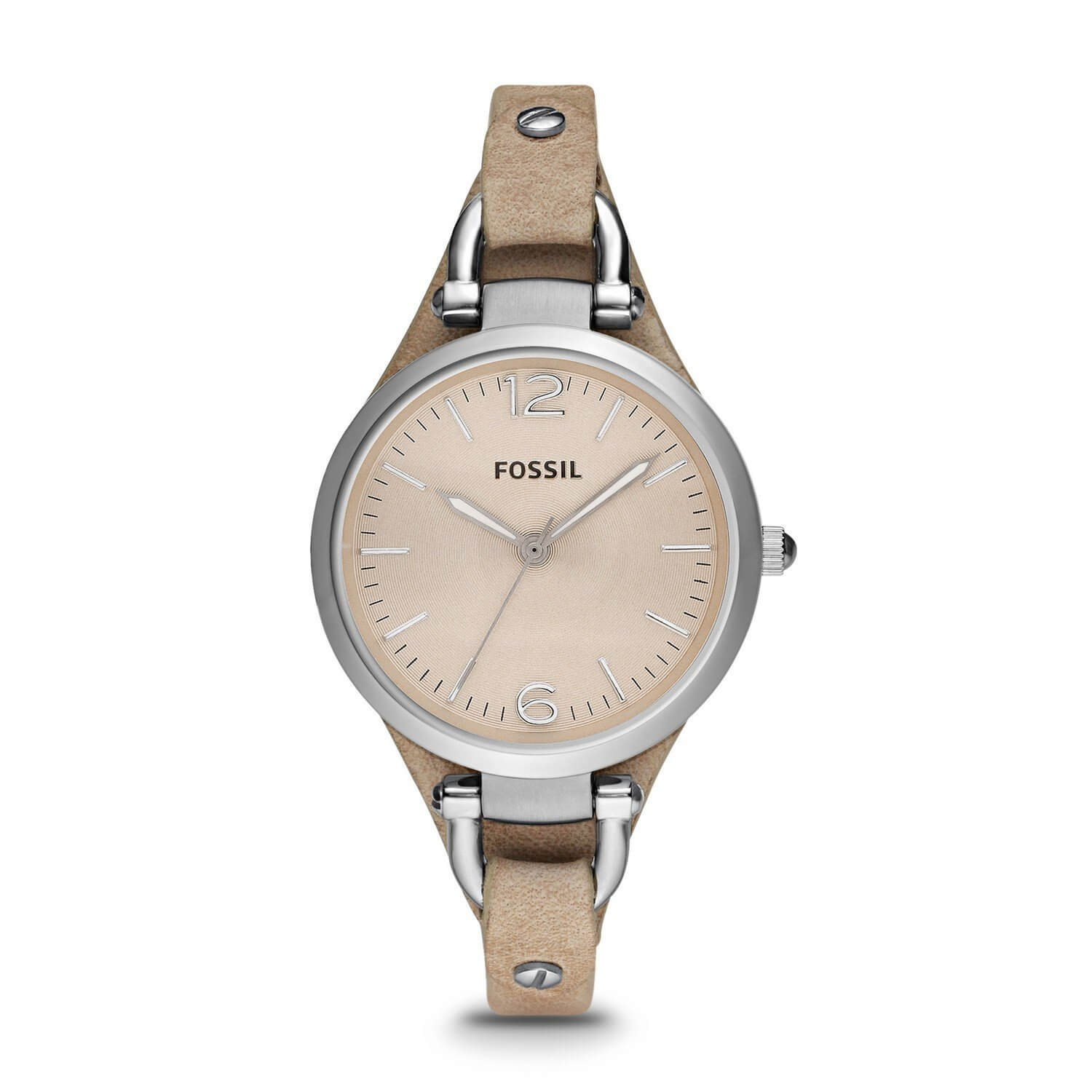 Fossil Georgia Analog Peach Dial Women's Watch ES2830