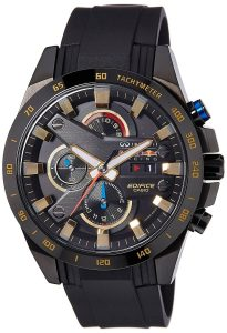 Casio Edifice Analog Black Dial Men's Watch - EX215
