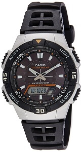 Casio Youth World-time Analog-digital Black Dial Men's Watch - AQ-S800W-1EVDF