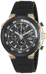 Citizen Chronograph Black Dial Men's Watch - CA0448-08E