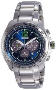 Citizen Eco Drive Chronograph Blue Dial Men's Watch (CA4230-51L)
