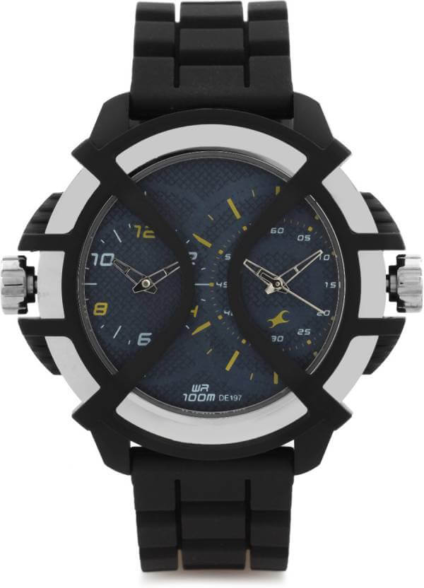 Fastrack Sport Chronograph Time Blue Dial Men's Watch – 38016PP01