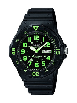 Casio Enticer Analog Black Dial Men's Watch – MRW-200H-3BVDF