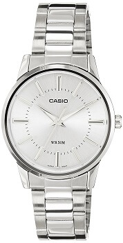 Casio Enticer Analog Silver Dial Men's Watch – MTP-1303D-7AVDF