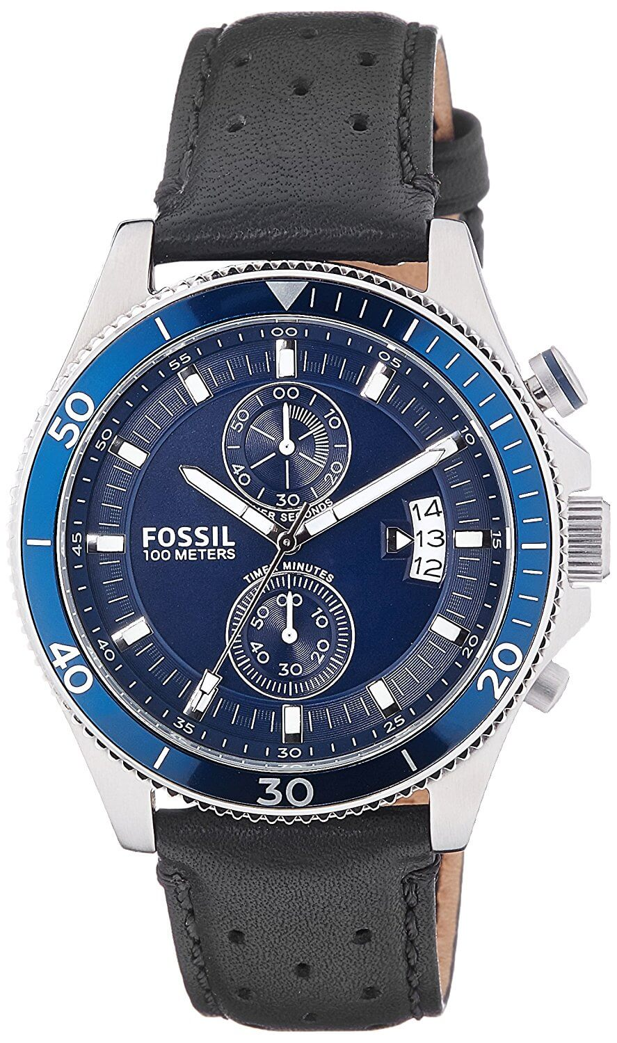 Fossil End of Season Wakefield Analog Blue Dial Men's Watch – CH2945I