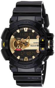 G-Shock Analog-Digital Black Dial Men's Watch - GBA-400-1A9DR