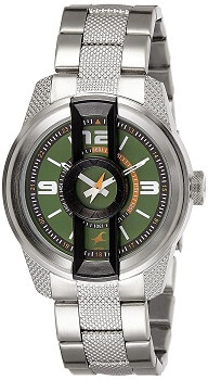 Fastrack Analog Green Dial Men's Watch – 3152KM02