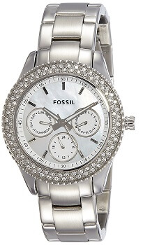 Fossil Analog Silver Dial Women Watch – ES2860