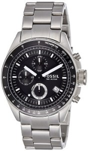 Fossil Decker CH2600IE Chronograph Analog Black Dial Men's Watch