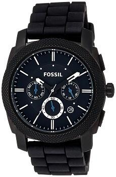 Fossil Machine Chronograph Black Dial Men's Watch – FS4487
