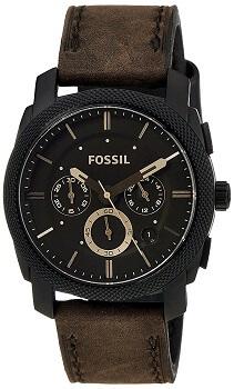 Fossil Machine Analog Brown Dial Men's Watch – FS4656