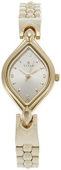 Titan Karishma Analog Gold Dial Women's Watch – NE9639YM05