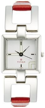Titan Youth Analog White Dial Women's Watch NE2484SL01