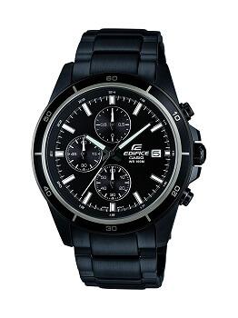 Casio Edifice Chronograph Black Dial Men's Watch – EFR-526BK-1A1VUDF
