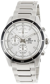Casio Edifice Chronograph White Dial Men's Watch – EFR-526D-7AVUDF