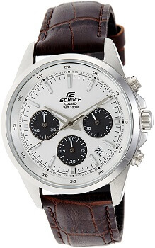 Casio Edifice Chronograph White Dial Men's Watch – EFR-527L-7AVUDF