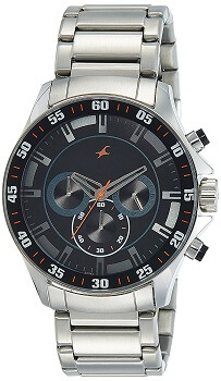 Fastrack Analog Black Dial Men's Watch – 3072SM04