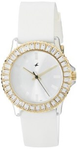Fastrack NE9827PP01J Hip Hop Analog White Dial Women's Watch