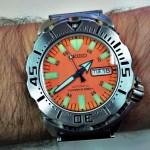 Seiko Orange Monster Watch Review