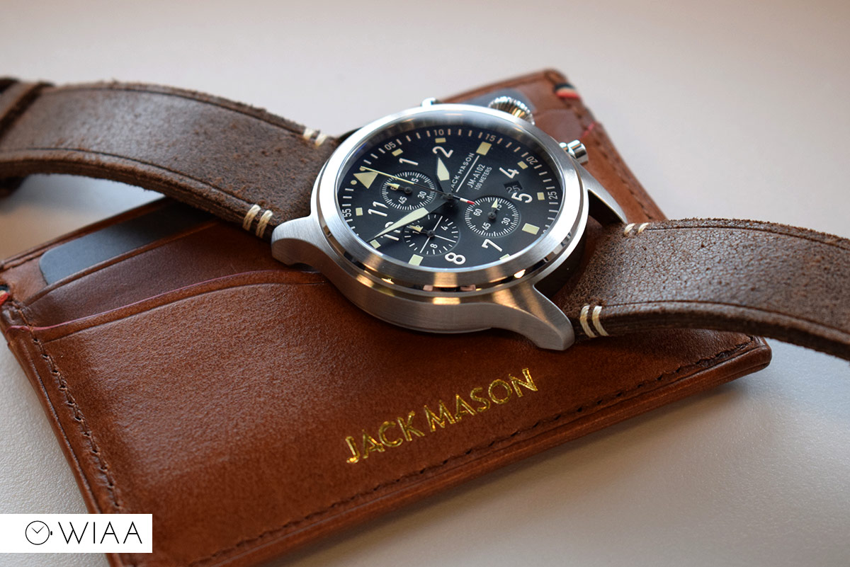 "Jack Mason JM-A102 Watch Review ""The Masonry"""