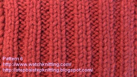 Pattern 6 - watchknitting.com