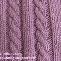Pattern 16 – Basic Cable Stitch