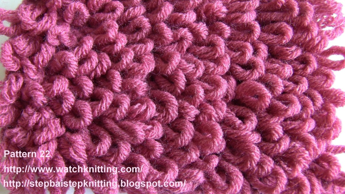 Stitch 22- Loop stitch