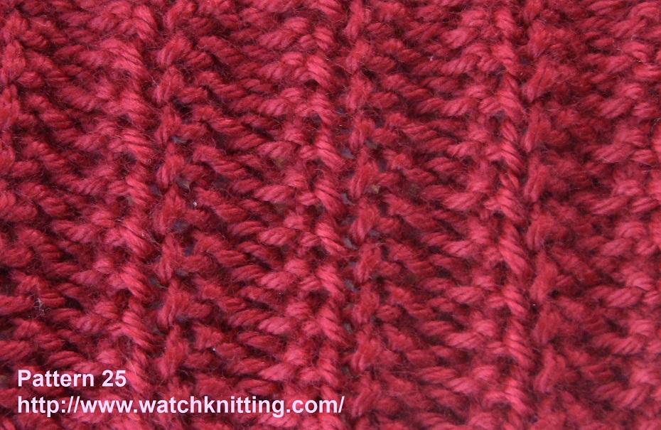 Stitch 25 – Rib Stitch