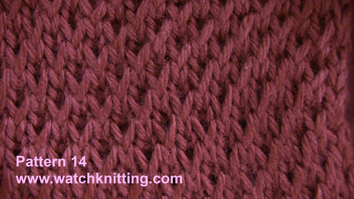 Stitch 14 – Simulated Brioche Stitch