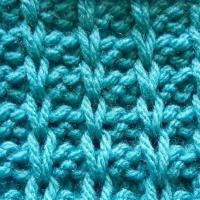 Ridge slip stitch – stitch no.28