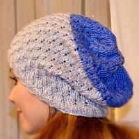 Slouchy Toque tutorial Dandelion stitch