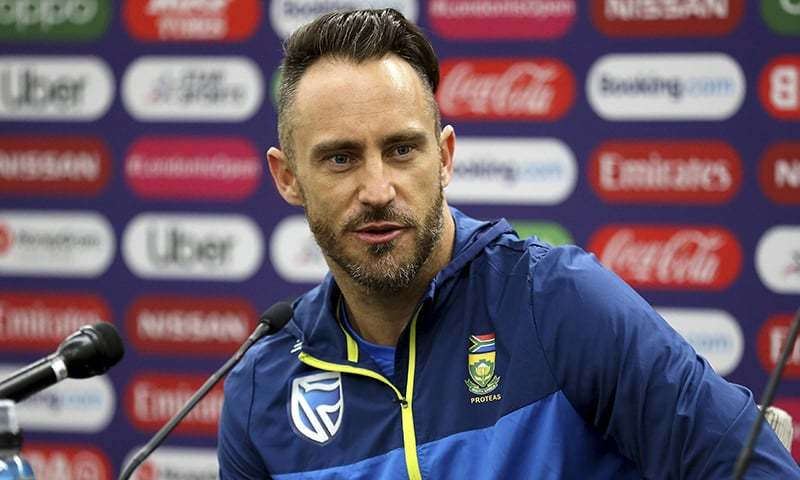 Faf Du Plessis Will Play For Peshawar in Pakistan Super League