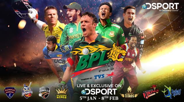 Bangladesh-Premier-League-BPL-Top T20 Cricket Leagues