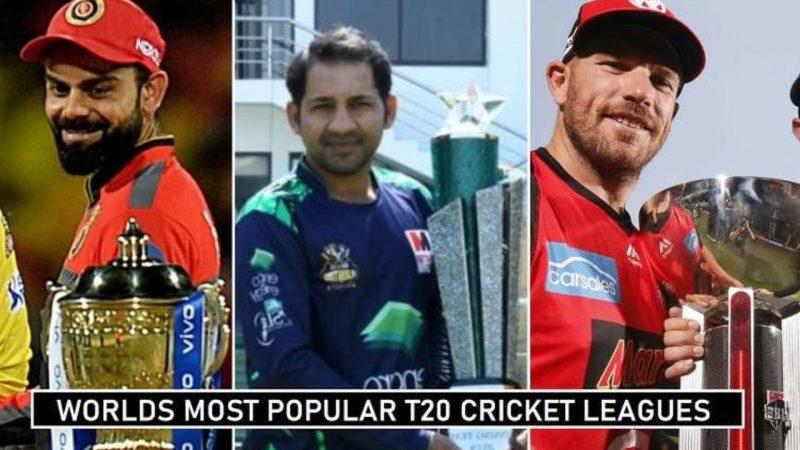 Top 8 Most Popular T20 Cricket Leagues