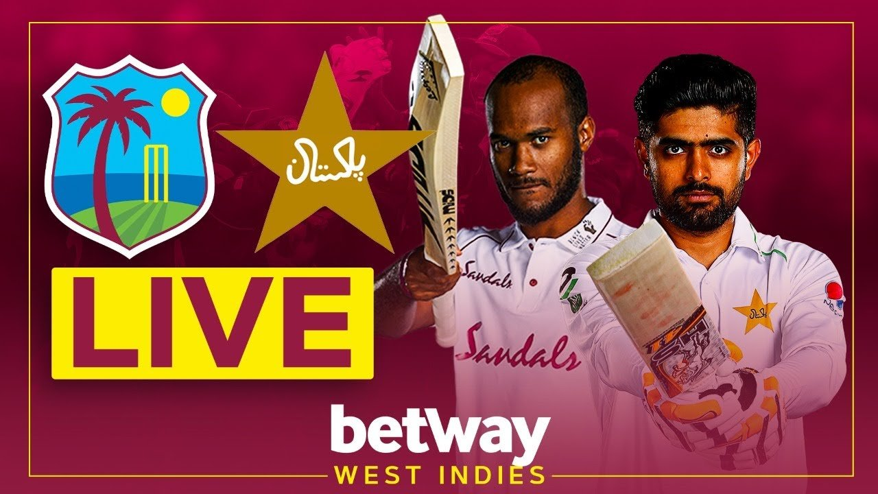 West Indies vs Pakistan | 1st Test Live Streaming Online | Day 4