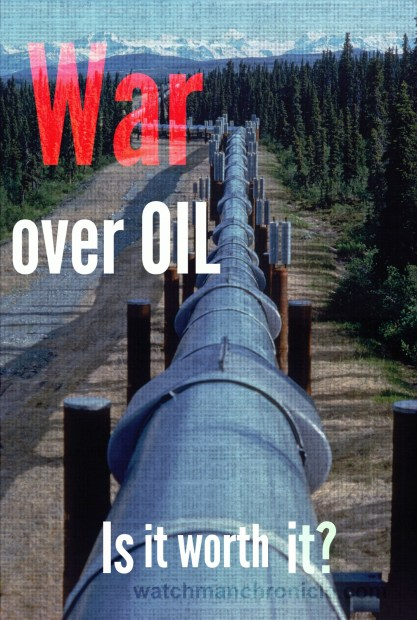 War over oil - Keystone Pipeline