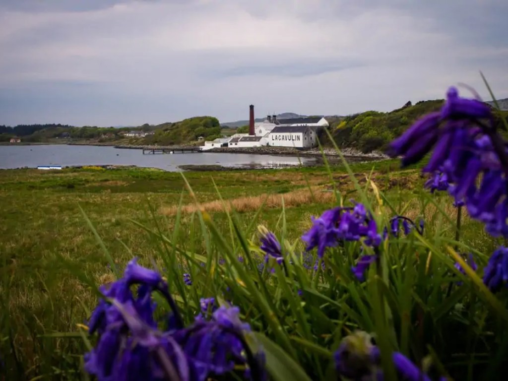 Lagavulin distillery on Islay, Scotland