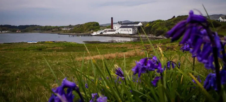 Lagavulin distillery on Islay, Scotland