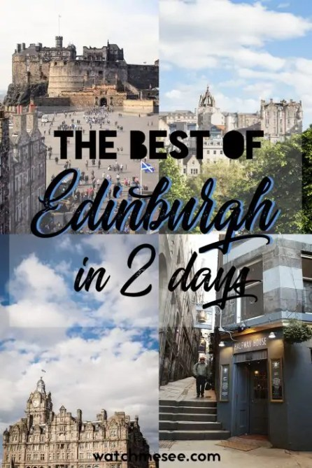 Wonder how to fit the best sights in Edinburgh in 2 days? This guide is your ultimate weekend itinerary to the capital of Scotland.