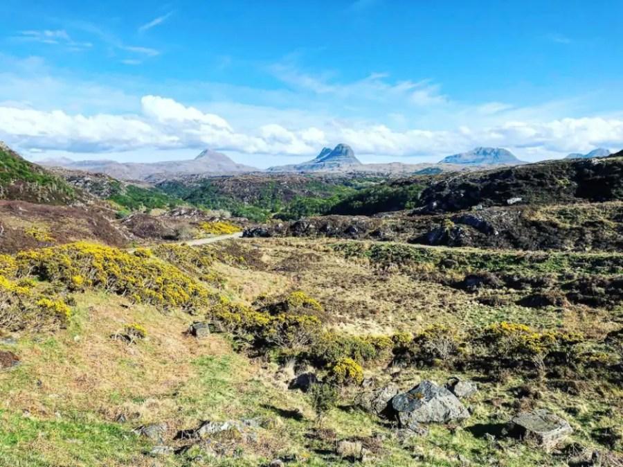 Mountain views in Scotland