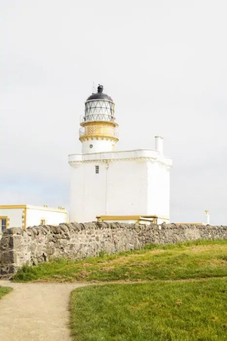 Climbing to the top of the old lighthouse of Kinnaird Head is the highlight of any visit at the Museum of Scottish Lighthouses in Fraserburgh.